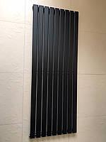 Радиатор дизайнерский вертикальный Livorno 9/1800 Черный матовый 1800*610, фото 1