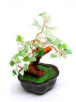 Дерево с камнями (12 см) зеленое