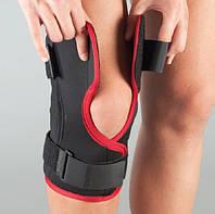 Aurafix Бандаж на колено неопрен, разъемный, полицентр шарнир 104-А р.S