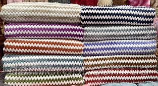 Плед-покрывало стильный яркий мягкий с узором размер 150х200 см купить оптом со склада 7км Одесса