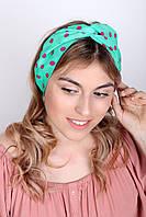 Узкие шарфы FAMO Шарф Гелла бирюзовый 150*17 #L/A