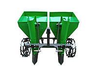 Картофелесажалка двухрядная Володар КСН-110 (110 л, минитрактор, 3-х точечная навеска)