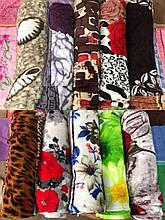 Плед-покрывало модный с ярким принтом размер 180х200 см купить оптом со склада 7км Одесса