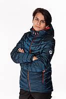 Детская демисезонная куртка для мальчика подростка Artur Морская волна (146-158 см) на весна-осень