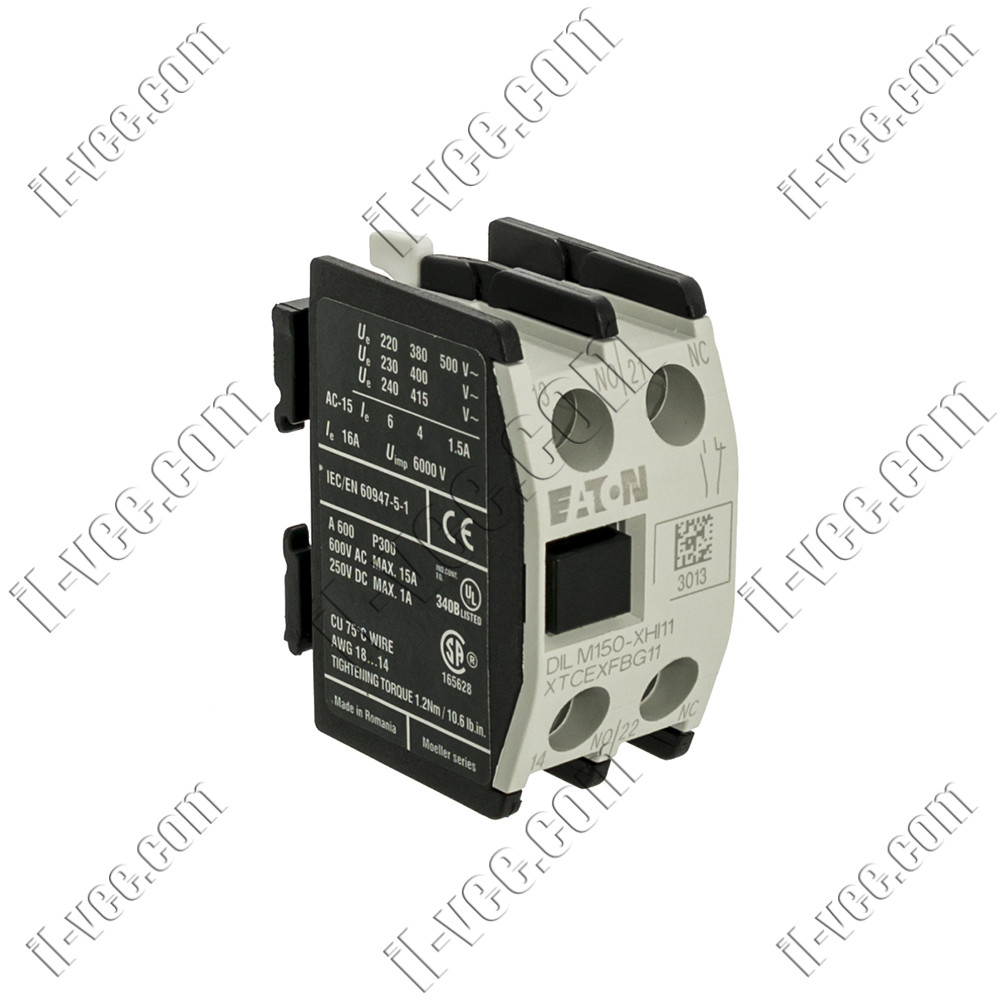 Блок вспомогательных контактов EATON ELECTRIC DILM150-XHI11, NO+NC
