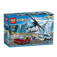 """Конструктор BLX 82308 (Аналог Lego City 60138) """"Стремительная погоня""""310 деталей, фото 1"""