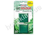 Таблетка для бачка унитаза Kolorado WC Colour зеленый 2 шт. 45гр