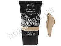 Тональное средство для лица Colour Intense All skin type Foundation Слоновая кость, тон 01 30мл
