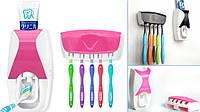Диспенсер дозатор для зубной пасты и щеток автоматический ZGT SKY, фото 1