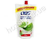 Крем-мыло косметическое жидкое в пакете Olis Алоэ 500 мл.