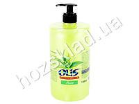 Крем-мыло туалетное жидкое Olis Алоэ с дозатором 1л