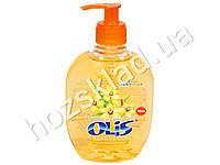 Крем-мыло туалетное жидкое Olis з гліцерином Ванильная орхидея с дозатором 300мл.