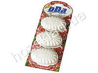Мыло туалетное твердое Ода Роза и крем планшет (цена за 3шт по 100г)