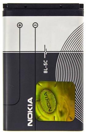Аккумуляторная батарея Nokia BL-5C 1020 mAh для, фото 2