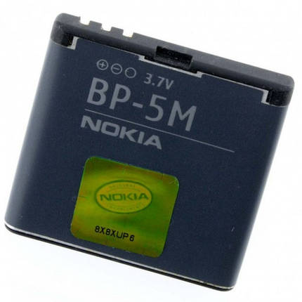 Аккумуляторная батарея Nokia BP-5M  900 mAh для 5610 XpressMusic/5700 XpressMusic/6110 Navigator/6220, фото 2