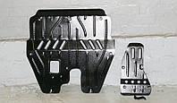Защита картера двигателя и кпп, диф-ла Nissan X-Trail (T31) 2007-  с установкой! Киев