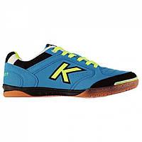 Футзалки Kelme Precision Indoor Court Trainers Turquoise/Lime - Оригинал