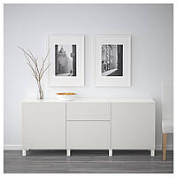 Тумба под телевизор IKEA BESTA Lappviken светло-серый (892.049.37)