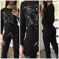 Спортивный костюм Louis Vuitton 46 Черный