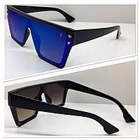 Очки маска солнцезащитные линзы зеркальные YSL (2078)