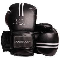 Боксерські рукавиці 3016 Чорно-Білий 16 унцій R144163