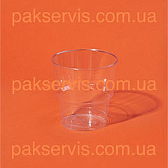 Стакан стеклопластик прозрачный 200мл 25шт. 1/36