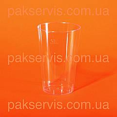 Стакан стеклопластик прозрачный 300мл 20шт. 1/36