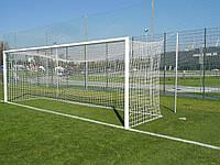 Профессиональная сетка для футбольных ворот (шнур 4,5 мм., Польша)/пара #F/B