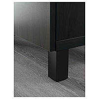 Тумба под телевизор IKEA BESTA Lappviken / Stubbarp черно-коричневый (093.028.71)