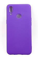 Панель DENGOS Carbon для Samsung Galaxy A10s (purple)