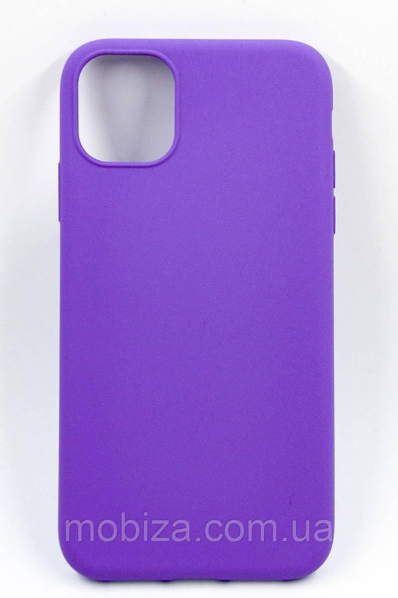 Панель DENGOS Carbon для iPhone 11 (purple)