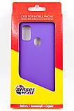 Панель DENGOS Carbon для iPhone 11 (purple), фото 3