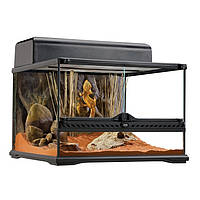 Hagen Exo Terra Natural Terrarium-Advanced Reptile Habitat, Low террариум 45х45х30см
