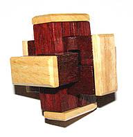 Головоломка деревянная Крест с накладками Kronos Toys (krut_0171)