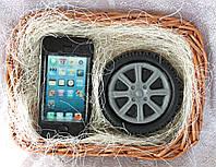 """Мыло ручной работы """"Набор IPhone и колесо"""""""