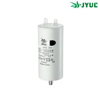 CBB60M 25 mkf  450VAC (±5%) (40*95 mm) болт+клеми, поліпропіленовий конденсатор для пуску та роботи