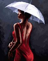 Картины по номерам 40 × 50 см. Грация под дождем Худ МакНейл Ричард