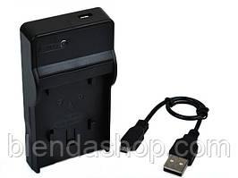 Зарядное устройство с micro USB - LI-40C (аналог) для камер OLYMPUS (батарея Li-42B  (Li-40B, EN-EL10, F-NP45)