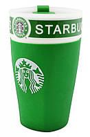 Чашка керамическая кружка Starbucks PY 023 зеленый (4152)