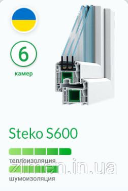 Окна Steko S600
