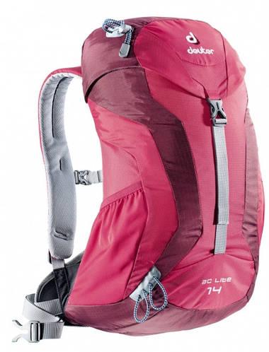 Универсальный туристический рюкзак 14 л Deuter AC Lite 14 цвет 5505 magenta-blackberry (ежевика)