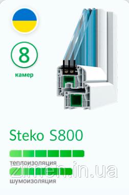 Окна Steko S800