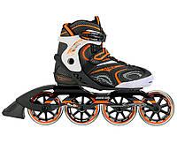 Роликовые коньки Nils Extreme NA1060S Size 44 Black-Orange SKL41-227572