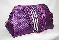 Текстильная сумка Adidas, цвет сиреневый