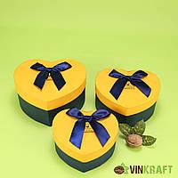 Подарункова коробка 180*140*80 (компл. 3 шт)