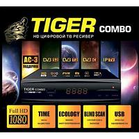 Комбинированный тюнер  Tiger Combo DVB-S2/T2 + прошивка спутниковых каналов