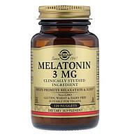 Мелатонин от Solgar (3 мг, в пастилках) Солгар