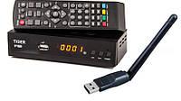 СПУТНИКОВЫЙ тюнер Tiger F1 HD DVB-S/S2 + wi-fi адаптер + прошивка