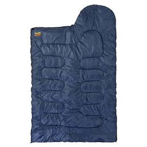 Спальный мешок GreenCamp GRC1009-B правый синий