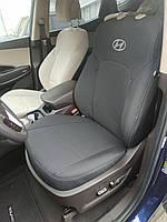 Чехлы на HYUNDAI Santa Fe 2012р.> (універсал) (airbag, сп. і сид. 1/3, задн. підлок., 5 підгол.)